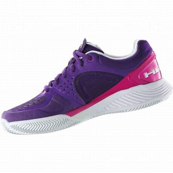 head sprint pro violette white pink women 2