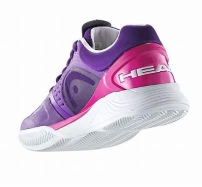 head sprint pro violette white pink women 4