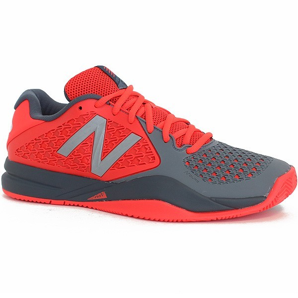 tennis new balance rouge