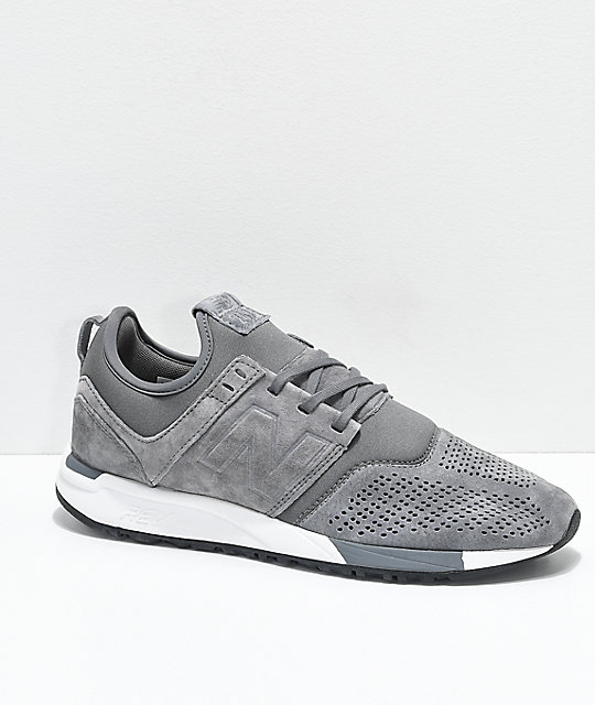 new balance lifestyle 247 grey and white 1