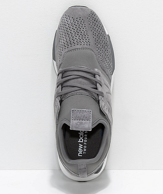 new balance lifestyle 247 grey and white 2