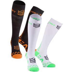 CHAUSSETTES COMPRESSPORT RACKET PLAY AND DETOX