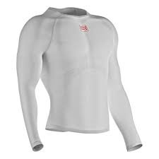 compressport 3d thermo ultralight shirt WHITE 2