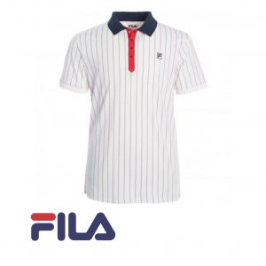 FILA POLO STRIPE COTTON