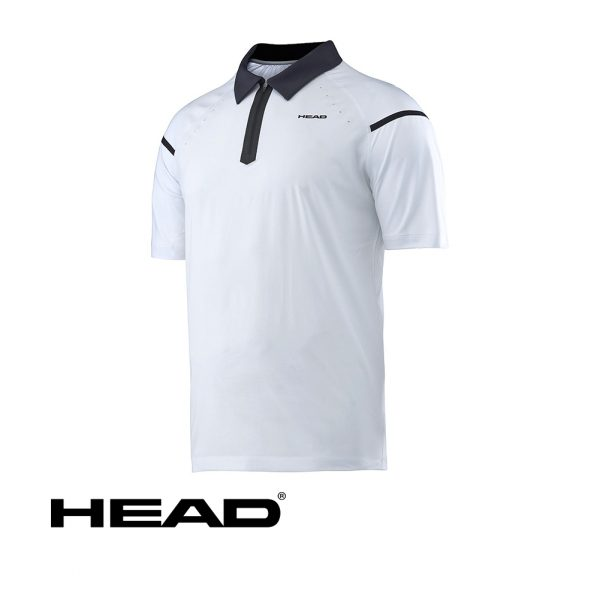 HEAD PERFORMANCE POLO SHIRT WHITE