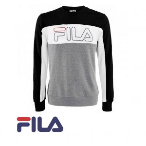 FILA SWEAT RANDY BLACK LIMITED EDITION